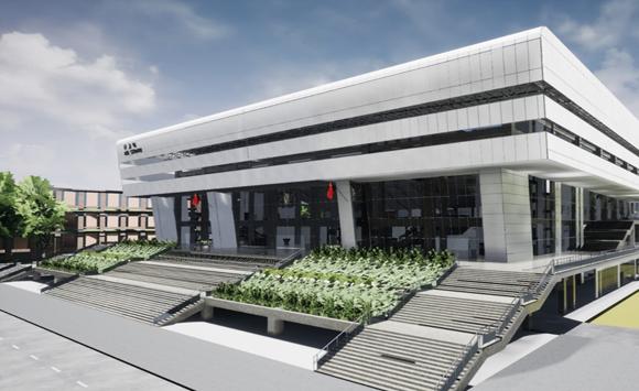 湖南工业大学体育场场馆项目——BIM5D施工版应用