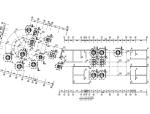 三层框架结构招待所结构施工图(CAD、11张)