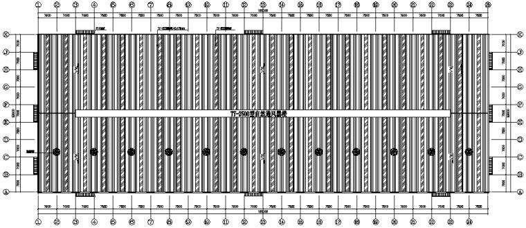 63×180门式刚架厂房施工图(CAD,18张)