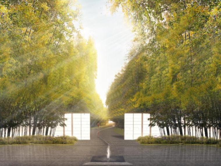 [江苏]苏州万科大家别墅居住区景观方案文本(新中式,私家庭院)