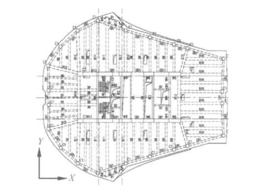 杭州来福士广场超高层塔楼框架核心筒结构设计研究论文