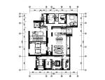 【广东】现代设计样板房全套CAD装修图(含实景图)