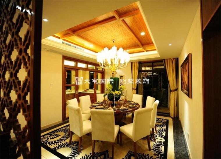 东南亚风格样板间设计下_3
