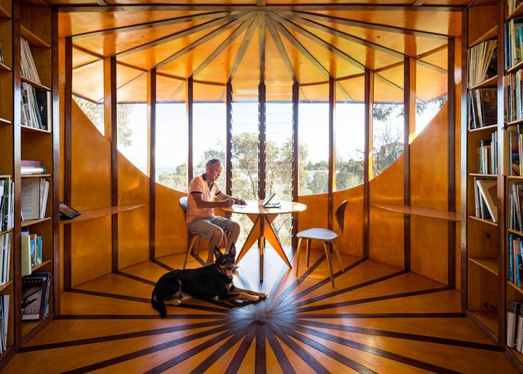 建筑师给自己设计的办公室,什么样的都有_27