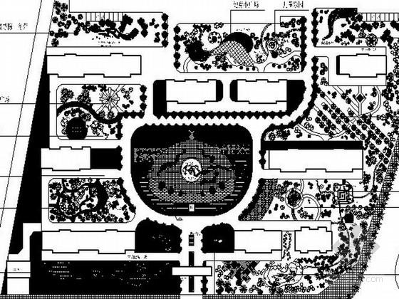 某地中心广场景观设计施工图
