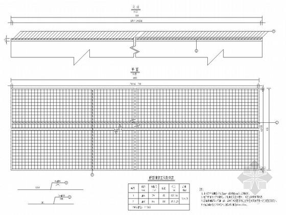 [四川]公路大修工程桥梁施工图设计46张