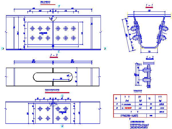 泉河桥图纸及引桥图纸全套413张CAD(中承式大富豪3cdb主桥区图片