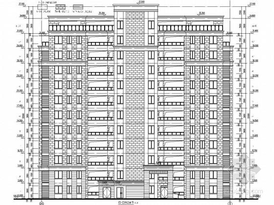 5300平11层员工宿舍楼建筑结构施工图