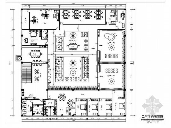 [香港]著名鞋业品牌总部办公室展厅室内装修施工图(含实景效果图)