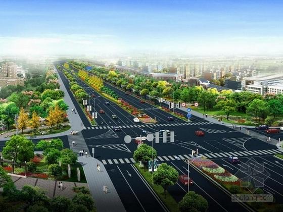 """[浙江]""""文以载道""""活力城市道路景观优化提升设计方案"""