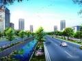 [四川]城市主干路景观大道全套施工图设计317张(道排 交通 电照 绿化)