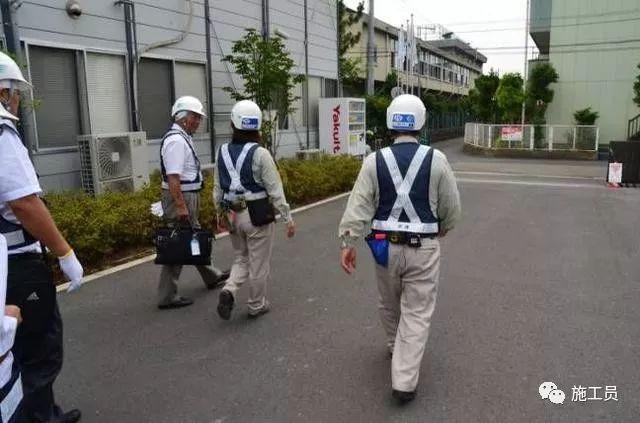 [施工管理]参观日本清水建设集团施工现场,感慨认真与敬业!