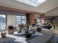 [北京]邱德光-万科如园顶层600㎡豪宅样板间深化设计+软装陈设方案