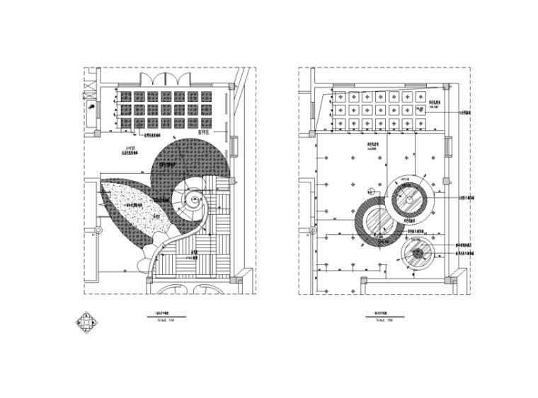 某三层幼儿园全套室内设计施工图(含实景图)