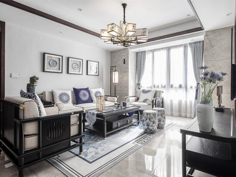 温州140㎡新中式风风格的住宅