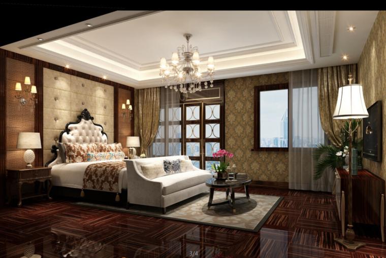 室内设计家装工装施工图及设计方案精品汇总_6