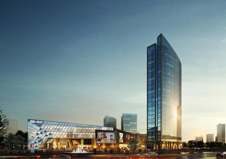 [浙江]高层现代经典风格商业及金融办公中心建筑设计方案文本_2