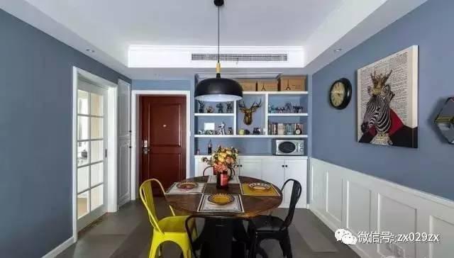 好的餐厅都用镶嵌式餐边柜,你家呢