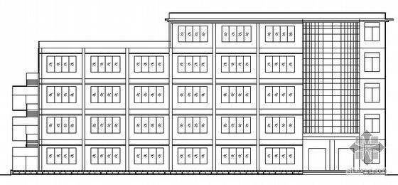 某五层多功能楼建筑方案图