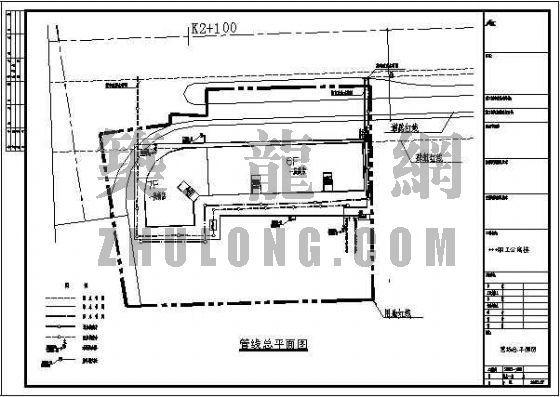南安华港职工公寓管线规划