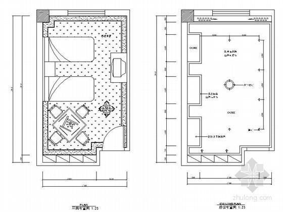 某洗浴中心按摩房设计装修图