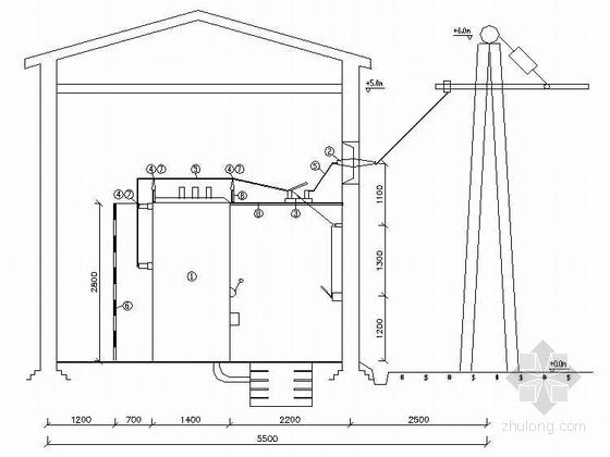 株洲某110KV变电站工程电气设计图