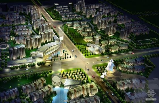[南京]奥体某小区规划及建筑方案文本