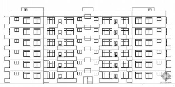 [大连]某六层住宅小区建筑施工图(毕业设计)
