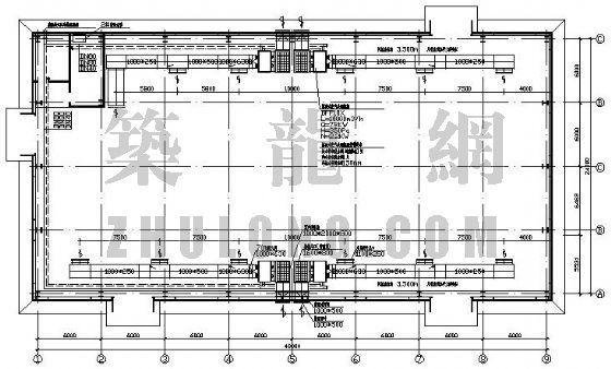 安徽某印刷厂2#厂房空调施工图