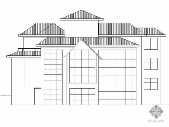 某二层别墅建筑方案(含效果图)