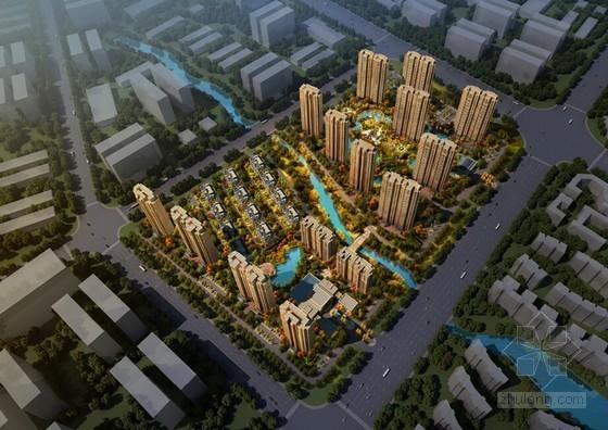12万平米高档欧式奢华小区项目方案设计(高清大图)
