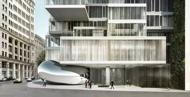 鸟巢设计师操刀的顶级公寓楼
