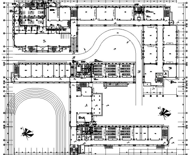 [江苏]多层教育建筑通风防排烟系统设计施工图