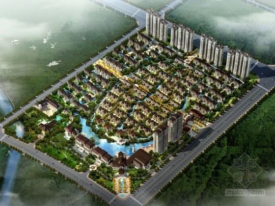 [河南]某六层花园洋房建筑方案文本(南京某知名设计院)
