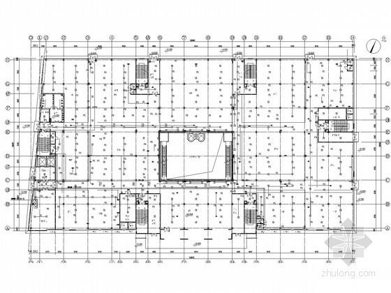 [北京]大型商业中心全套电气施工图纸(含地下室)