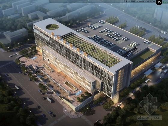 [贵州]大型客运中心建筑设计方案文本