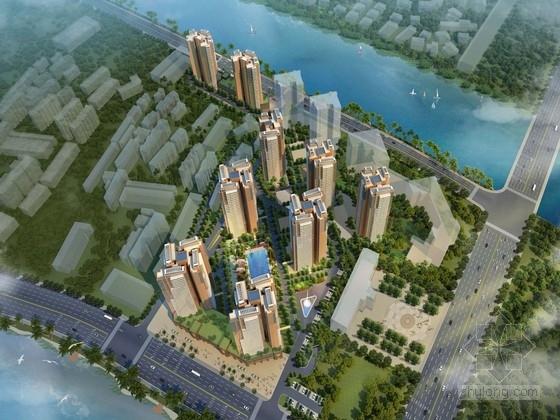 [海南]濱海城市高層住宅區規劃及單體建筑設計方案文本
