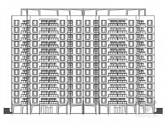 [广东]现代风格高层住宅安置区规划设计施工图