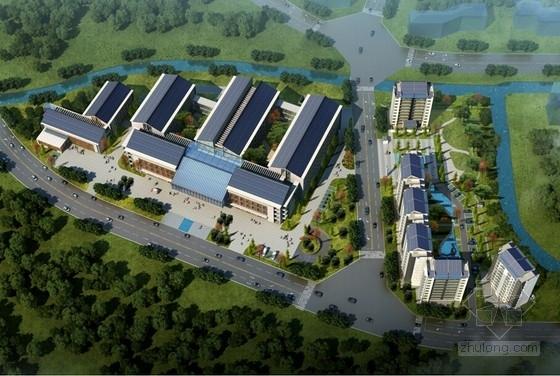 [四川]传统院落布局新中式风格中医院建筑设计方案文本
