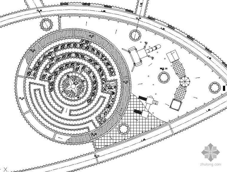 儿童活动广场设计图