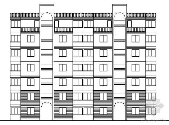 遵义市外环路沙河区修建性规划住宅楼方案图1