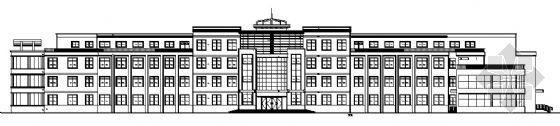 某学校四层教学楼建筑施工图图