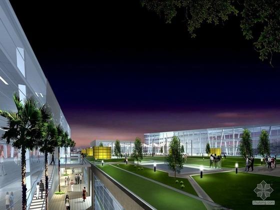 南海文化中心办公楼设计文本