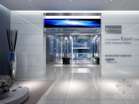 vr展厅3d模型资料下载-移动通信产品展厅3d模型下载