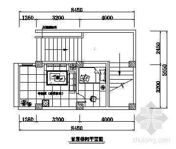 某办公楼平面布置图-2