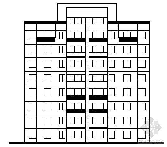 遵义市外环路沙河区修建性规划住宅楼方案图2-2