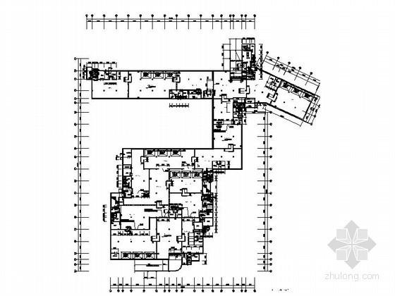 [苏州盐城]某住宅楼人防地下室建筑施工图
