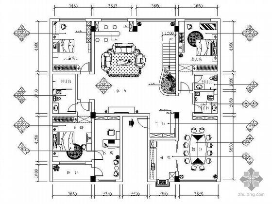 [武汉]复式住宅设计方案(含效果)