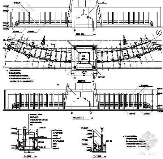 塔楼连廊节点详图