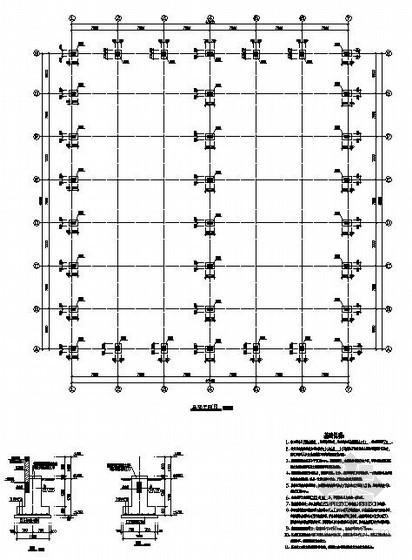 某钢结构厂房结构设计图